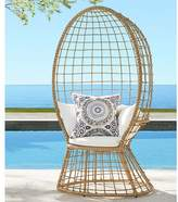 Pottery Barn Peacock All-Weather Wicker Chair