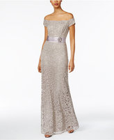 Alex Evenings Lace A-Line Gown