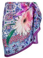 Gottex Floral Silk Pareo