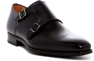 Magnanni Carmo Leather Double Monk Strap Loafer - Wide Width Available