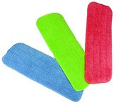 Reveal Mop Cleaning Pads Fit All Spray Mops & Reveal Mops Washable (15.5*5.5inch, 3PCS)