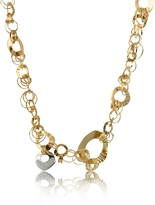 Orlando Orlandini Fashion - Diamond 18K Rose Gold Chain Necklace