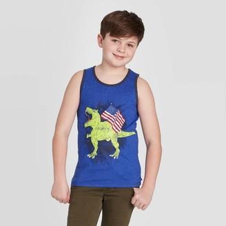 Cat & Jack Boys' Americana Dino Tank Top - Cat & JackTM