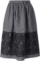 Comme des Garcons lace detail skirt