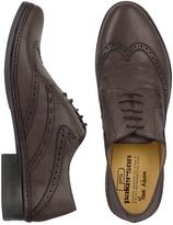 Pakerson Dark Brown Handmade Italian Leather Wingtip Oxford Shoes