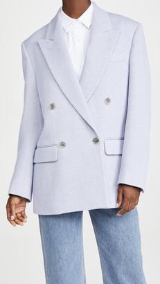 Acne Studios Jiselle Jumbo Twill Suit Jacket