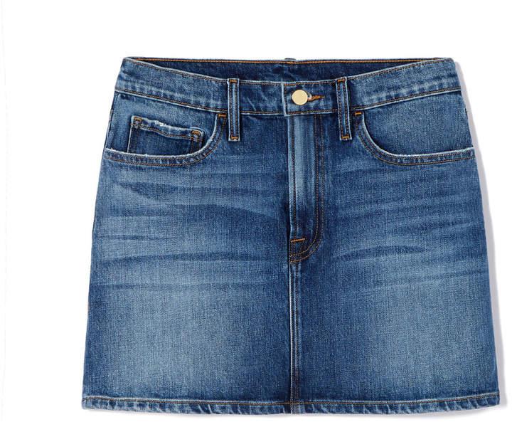 Goop x Frame Le Mini Denim Skirt