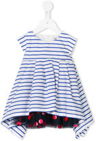 Junior Gaultier striped dress set - kids - Cotton/Polyamide - 9 mth
