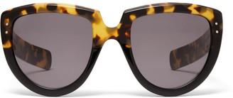 Oliver Goldsmith Sunglasses Y-Not 1966 Black Leopard