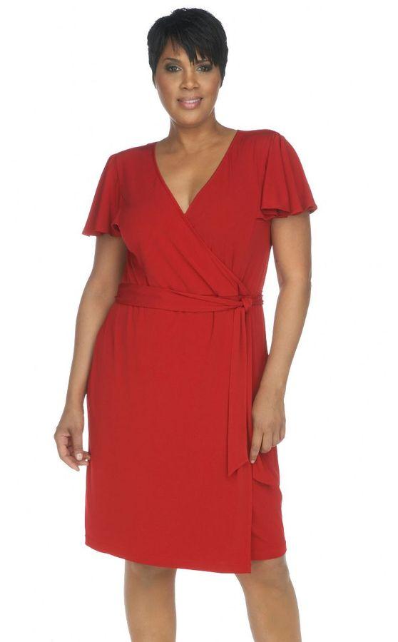 Calvin Klein woman matte jersey dress