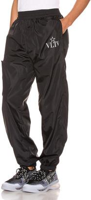 Valentino Cargo Pants in Black & White | FWRD