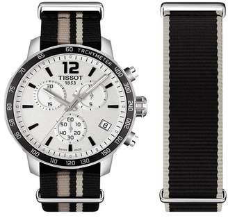 Tissot Men's Quickster Nylon Strap Watch, 42mm