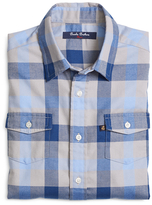 Brooks Brothers Flannel Large Plaid Sport Shirt