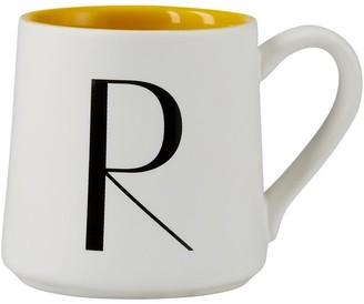 Indigo Monogram Espresso Cup R