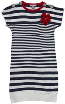 Petit Lem Paris My Love Tunic Dress (Toddler/Kids) - Blue-3