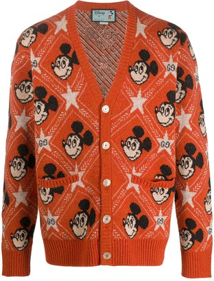 Gucci x Disney Mickey Mouse jacquard cardigan
