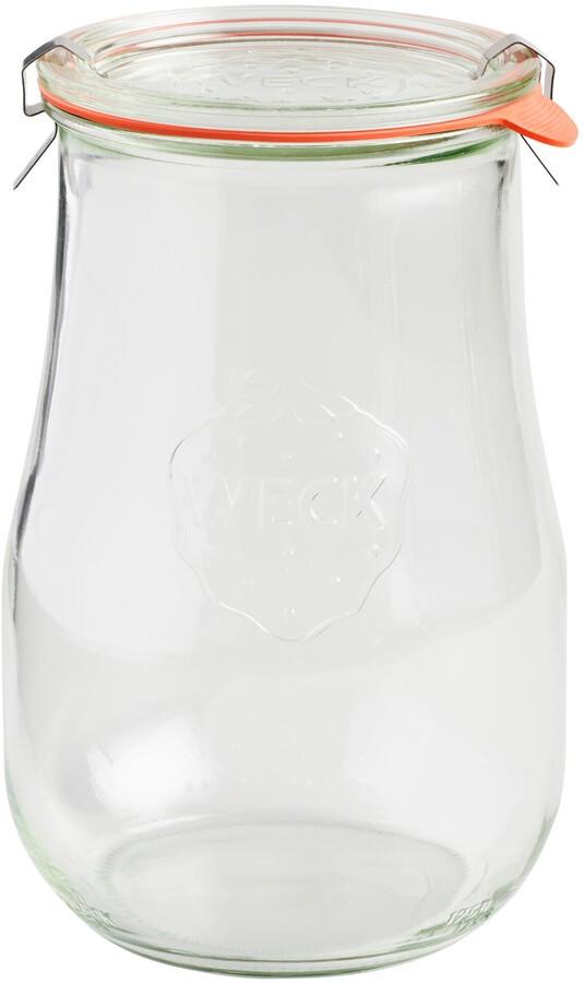 Large Glass Weck Tulip Jar