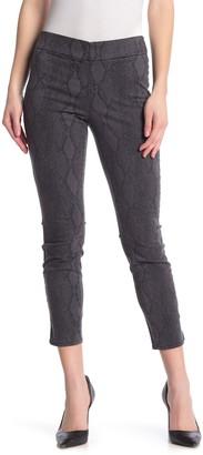 NYDJ Pull-On Skinny Ankle Slit Jeans