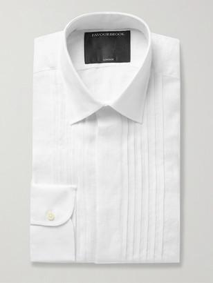 Favourbrook Bib-Front Cotton And Linen-Blend Shirt
