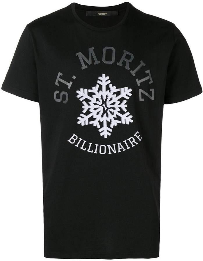 Billionaire graphic print T-shirt