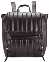 DKNY Women's Gansevoort Mixed Bombay and Quilted Backpack Black