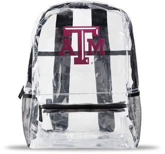 clear Texas A&M Aggies Team Logo School Bag