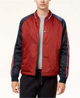 Ben Sherman Men's Colorblocked Baseball Jacket, Created For Macy's