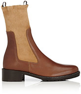 Each X Other Women's Leather Chelsea Boots-BROWN