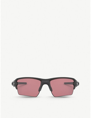 Oakley OO9188-59 Flak 2.0 XL acetate and Prizm rectangle-frame sunglasses