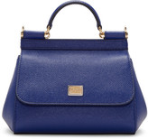 Dolce & Gabbana Blue Mini Miss Sicily Bag