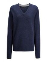 Joseph Pure Wool Knit V Neck Sweater