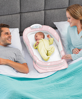 Baby Delight Pink Snuggle Nest Surround XL Infant Sleeper
