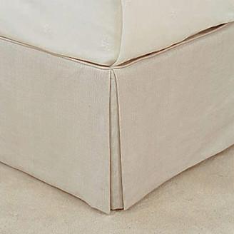 OKA Bed Valance 100% Linen, Super King - Natural