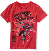 Mini Fine 'Spiderman' T-Shirt (Toddler)
