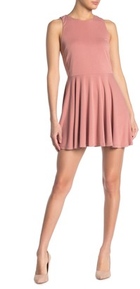Lovers + Friends Sweet Thing Fit & Flare Dress
