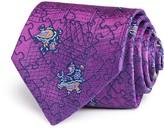 Turnbull & Asser Paisley Puzzle Classic Tie