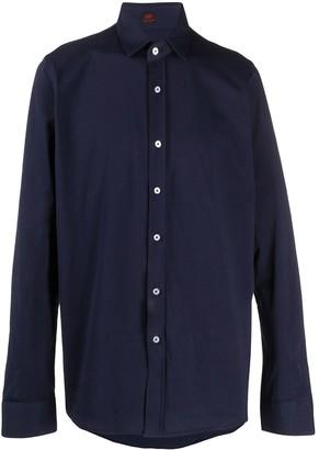 Mp Massimo Piombo Logo-Patch Dress Shirt