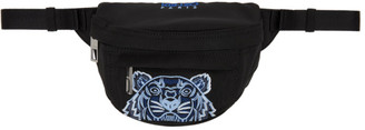 Kenzo Black Mini Kampus Tiger Bum Bag