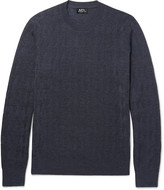A.P.C. Merino Wool-Blend Sweater