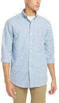 Izod Men's Big and Tall Essential Tattersall Long Sleeve Shirt