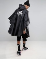HUF x Thrasher Packable Poncho