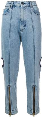 House of Holland cutout utility jeans