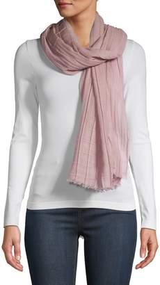 Eileen Fisher Silk Wool Blend Scarf