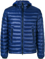 C.P. Company goggle hood padded jacket - men - Feather Down/Polyamide/Polyester - 48