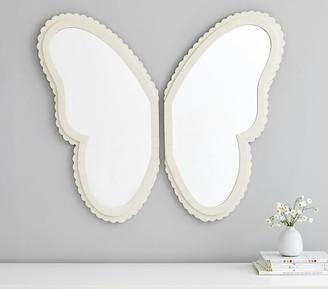 Pottery Barn Kids Butterfly Wings Inlay Mirror