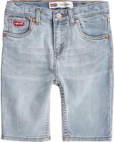 Levi's Boys blue 510 skinny shorts