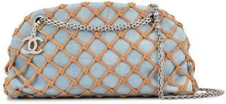 Chanel Pre-Owned net panel CC shoulder bag