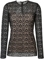 Stella McCartney lace overlay blouse