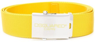 DSQUARED2 Logo Buckle Belt