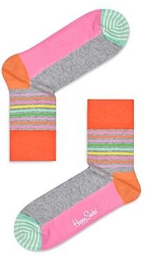 Happy Socks Colorblocked Crew Socks